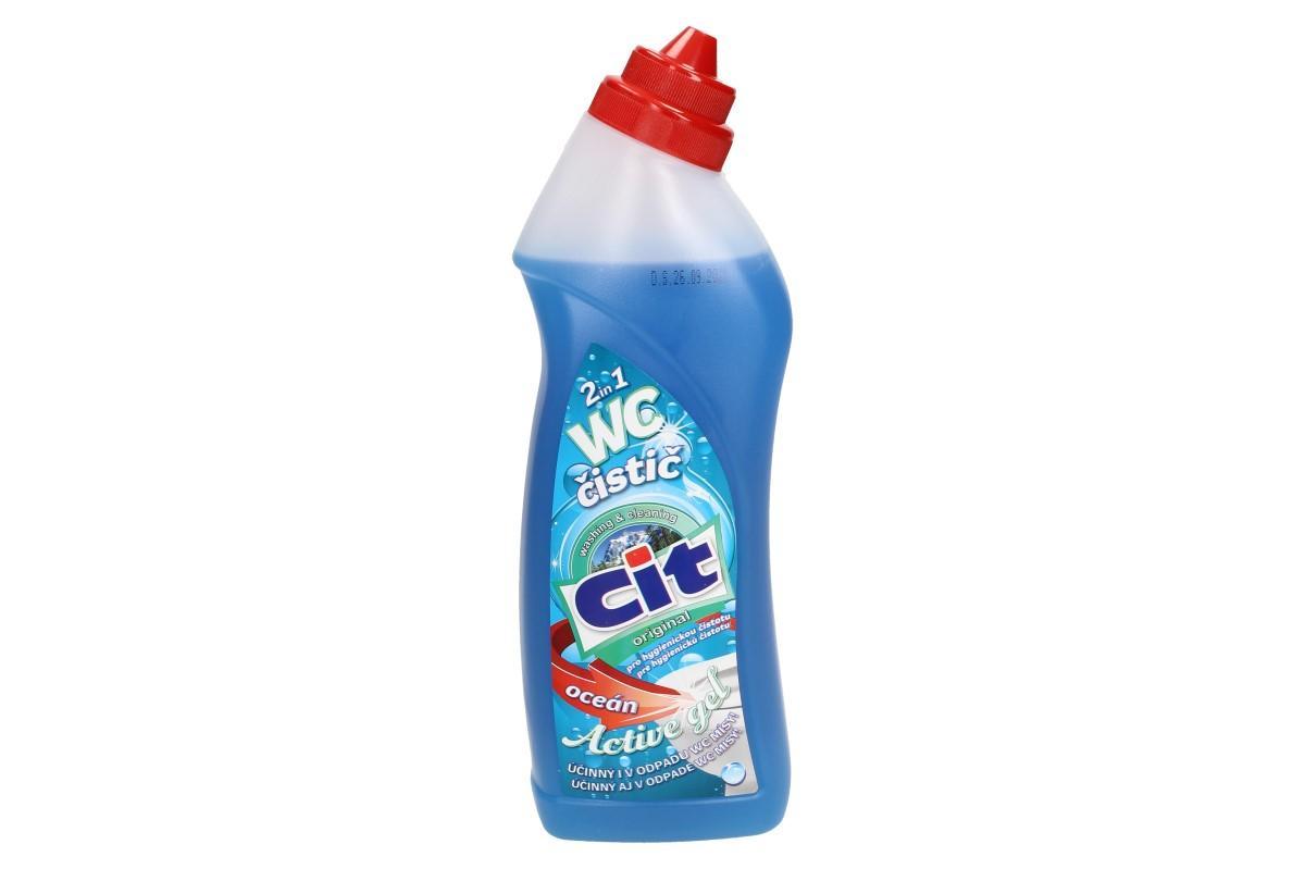 CIT wc čistič oceán 2v1 750 ml