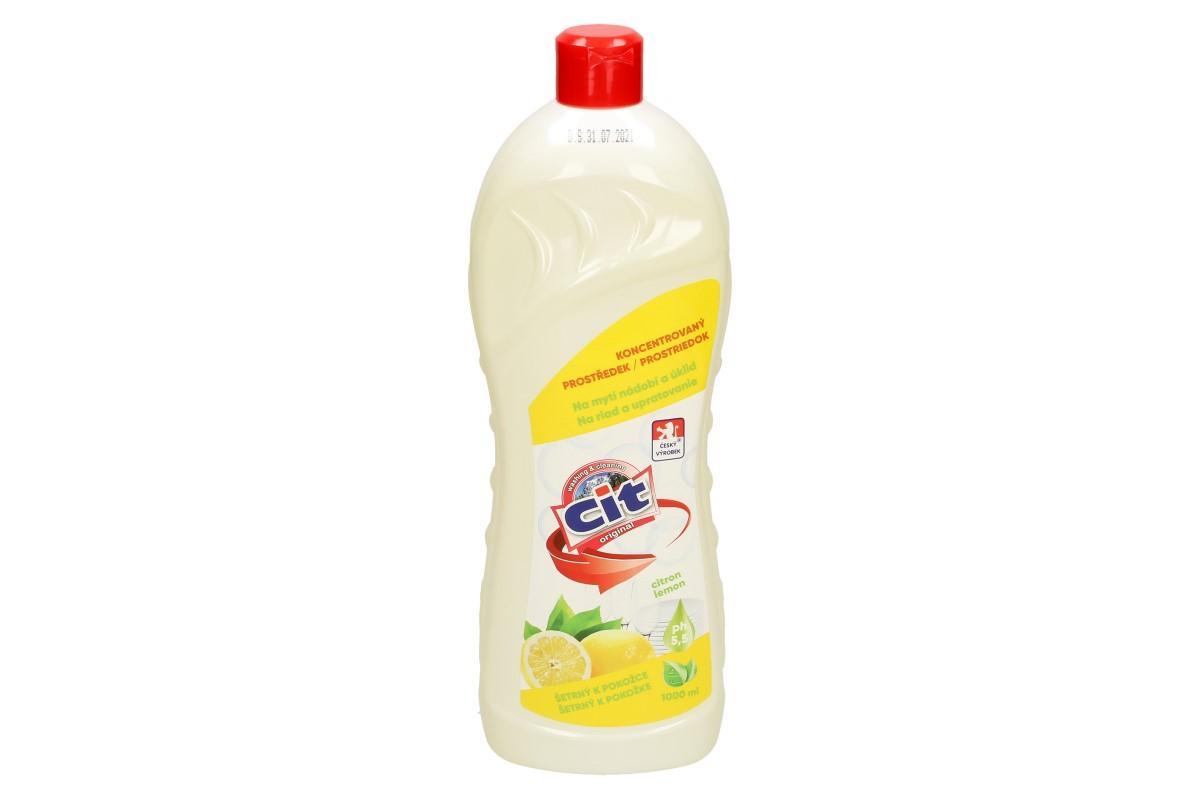 CIT tekutý prostředek na nádobí 1 L Citron