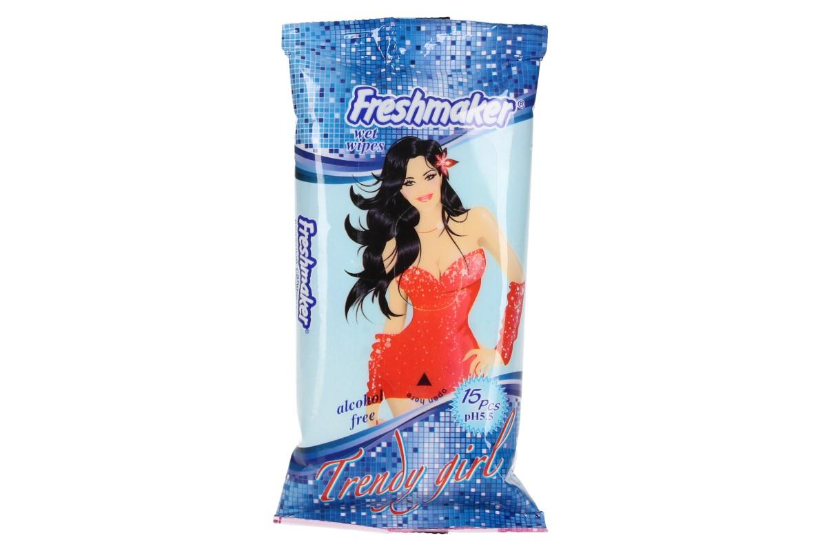 Freshmaker vlhčené ubrousky 15ks Trendy Girl