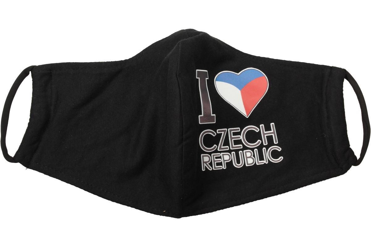 Rouška I Love Czech Republic