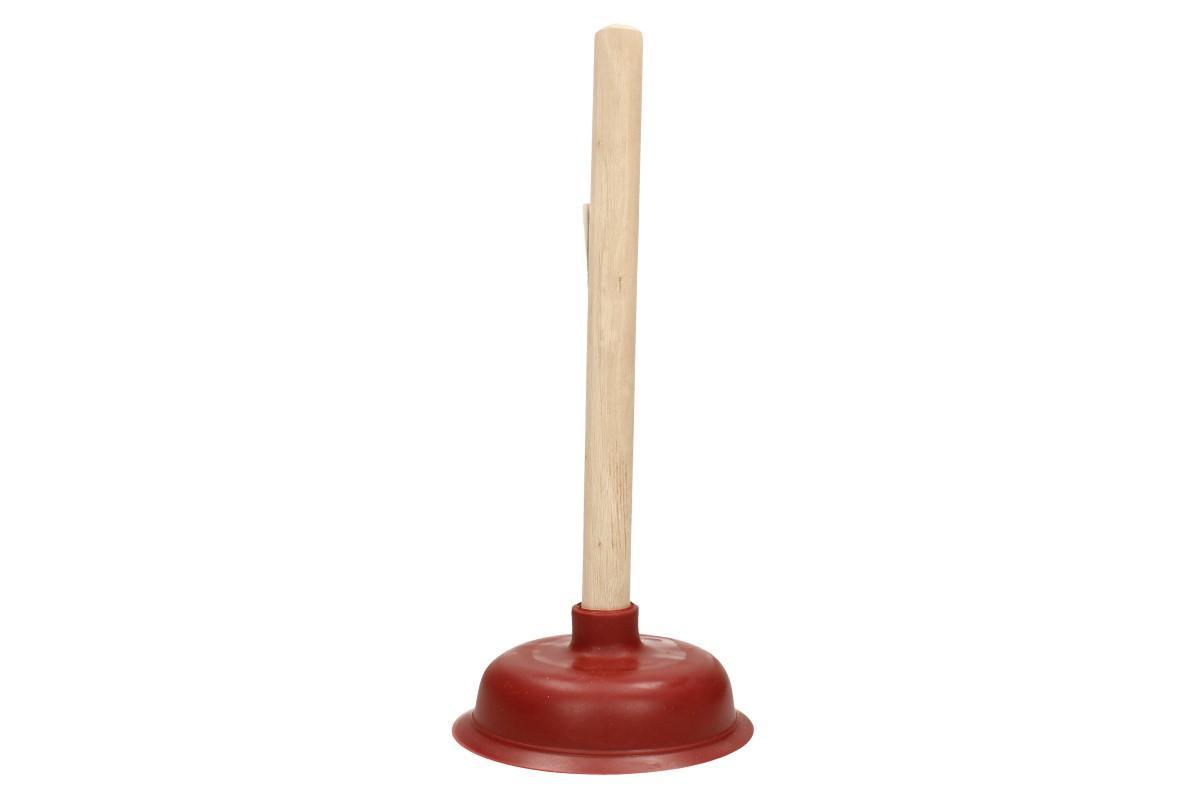 Gumový zvon na odpady červený 38x14 cm