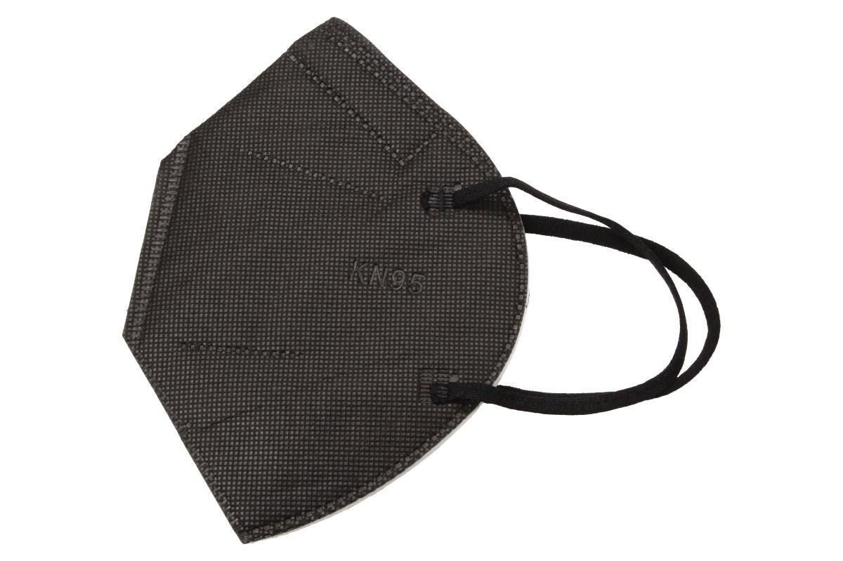 Respirátor FFP2/KN95, respirační rouška černý