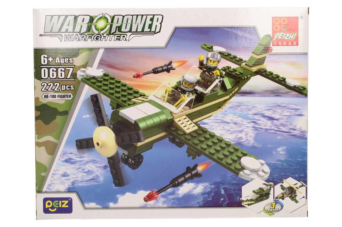 Stavebnice Peizhi War Power 0667