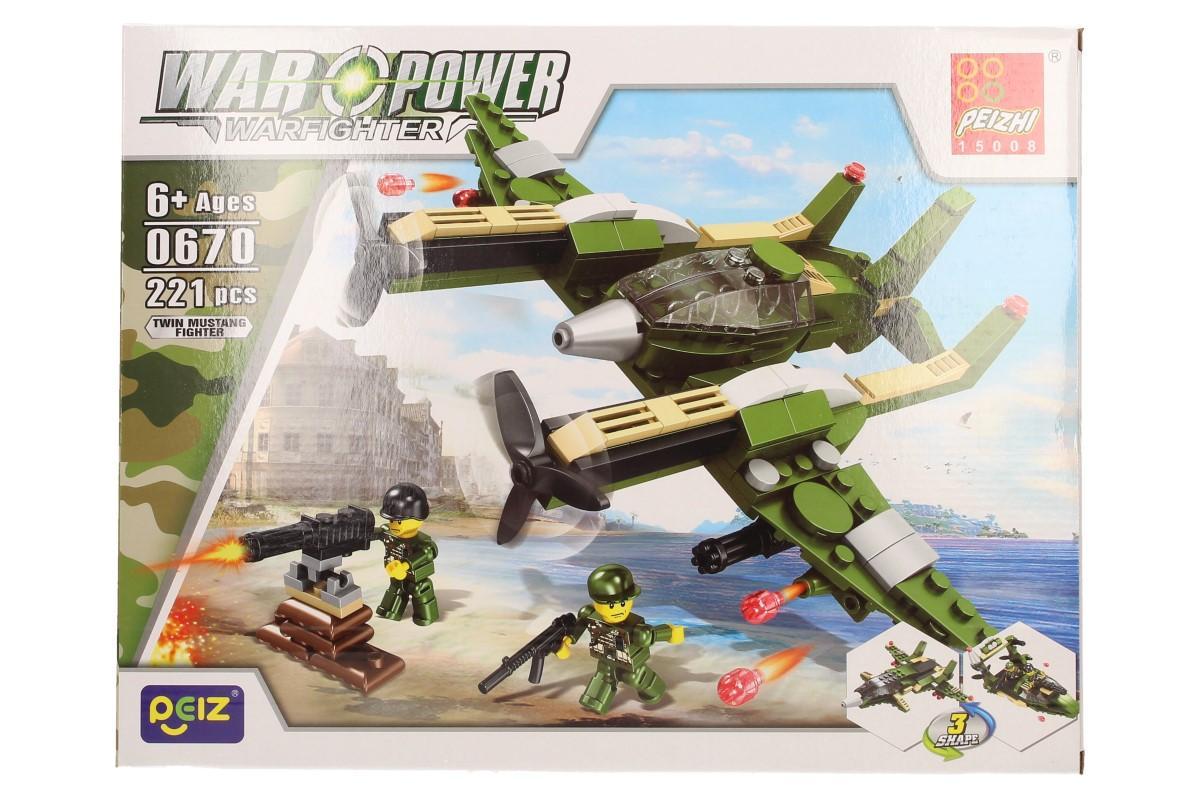 Stavebnice Peizhi War Power 0670