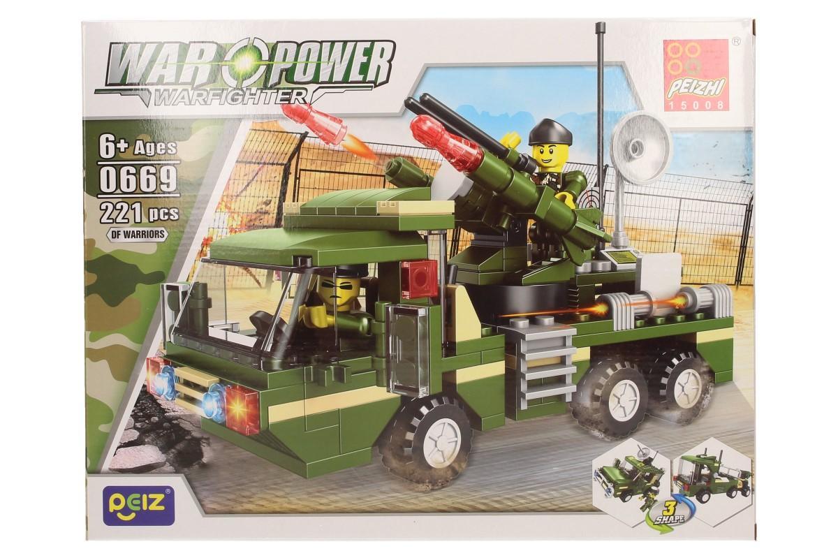 Stavebnice Peizhi War Power 0669