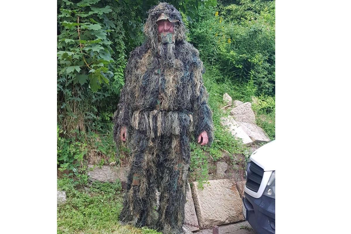 Maskovací oblek Ghillie suit