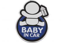 Foto 5 - Kovová samolepka BABY IN CAR 7cm x 10cm