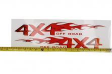 Foto 5 - Samolepka 4x4 Off Road 44x14 cm