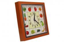 Foto 5 - Nástěnné hodiny FLORINA VEGA ovoce a zelenina ručičkové
