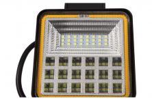 Foto 5 - LED pracovní světlo 24W double colour hranaté