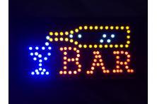 Foto 5 - Barevná světelná LED tabule BAR