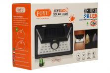 Foto 5 - LED solární světlo s pohybovým čidlem FO-TA004 30W