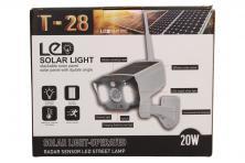 Foto 5 - Imitace bezpečnostní kamery T-28 s LED solárním světlem