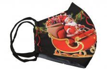Foto 5 - Rouška vánoční Santa na saních