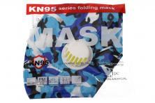 Foto 5 - Respirátor FFP2/KN95, respirační rouška maskáčová modrá
