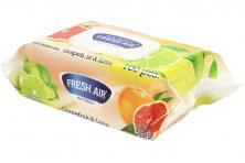Foto 5 - Fresh Air vlhčené ubrousky 100ks Grapefruit & Lime
