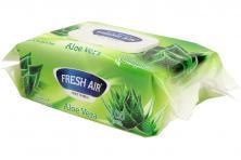 Foto 5 - Fresh Air vlhčené ubrousky 100ks Aloe Vera