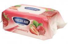 Foto 5 - Fresh Air vlhčené ubrousky 100ks Strawberry