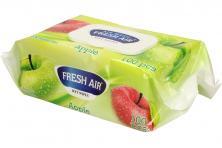 Foto 5 - Fresh Air vlhčené ubrousky 100ks Apple
