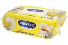 Foto 5 - Fresh Air vlhčené ubrousky 100ks Chamomile