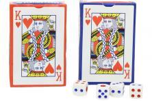 Foto 5 - Karty na poker s kostkami 108 kusů