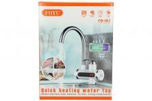 Foto 5 - Průtoková vodovodní baterie stojánková s elektrickým ohřevem vody model FO-J01