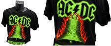 Tričko AC/DC HELLS BELLS 001 zel…