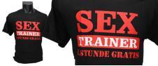 Tričko Sex Trainer, první lekce …
