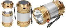 Lampa pro kemping Profi + solárn…