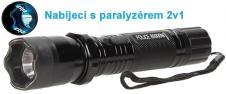 Výkonná nabíjecí baterka s paral…