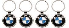 Klíčenka - znak BMW Chrom