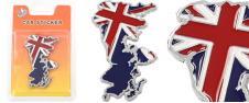 Kovová samolepka England 6,5 x 4…