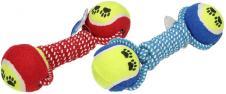 Hračka pro psa provaz s tenisáky…