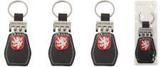 Klíčenka Praha s koženkou a znak…