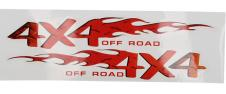 Samolepka 4x4 Off Road 44x14 cm