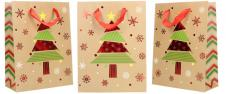 Dárková vánoční taška se stromeč…