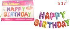 Balónky Happy Birthday S 17´´ Ba…