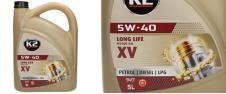 K2 5W - 40 BENZIN, DIESEL, LPG 5…