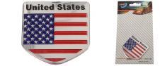 Kovová samolepka United States 5…