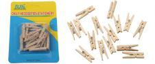 Dřevěné mini kolíčky sada 15 kus…