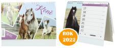 Kalendář 2022 Koně 22 x 18 cm