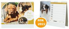 Kalendář 2022 Psi a štěňata 22 x…