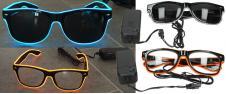 LED svítící brýle