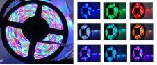LED pásek RGB 3528 5m na dálkové…
