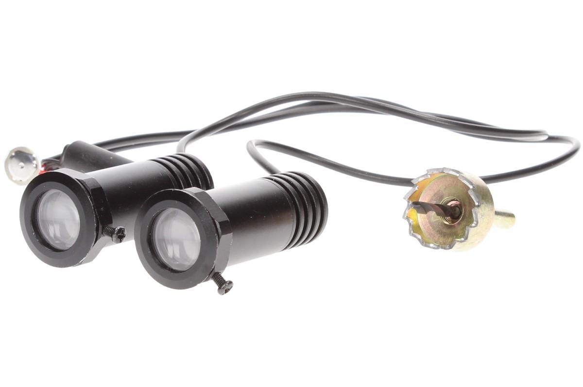 Svítící LED logo projektor značky automobilu 2ks