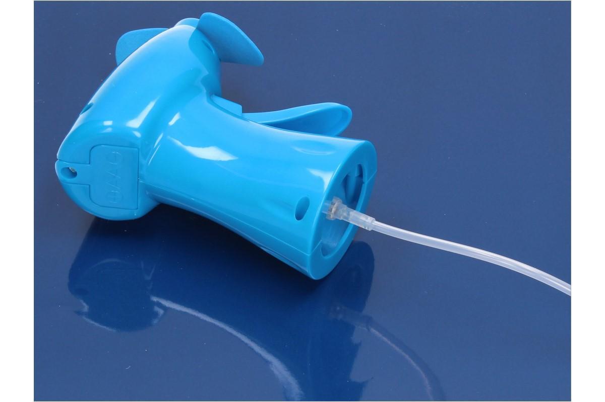 Větráček s rozprašovačem vody