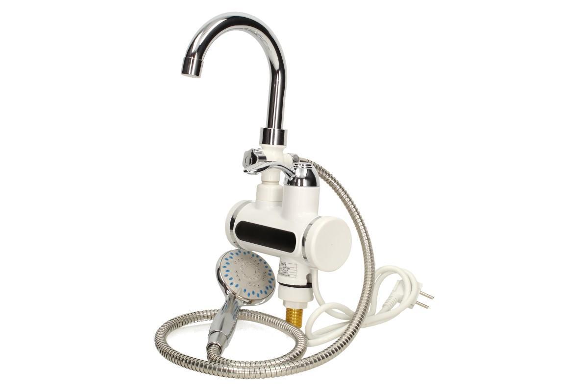 Průtoková vodovodní baterie stojánková se sprchou