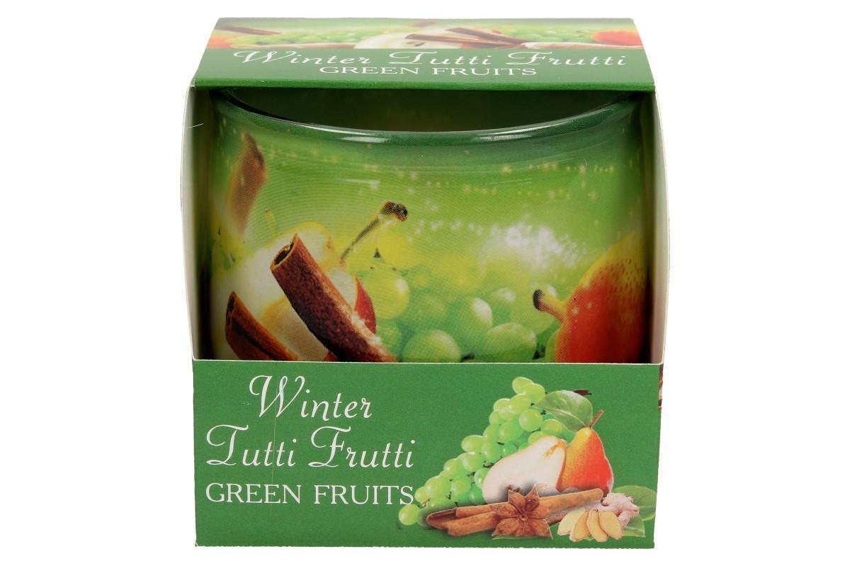 Vonná svíčka Titti Fruti zelené jablko