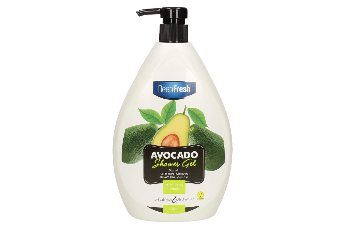Deep Fresh sprchový gel avocado 1L