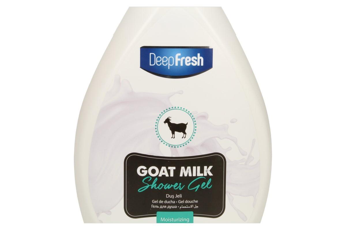 Deep Fresh sprchový gel goat milk 1L
